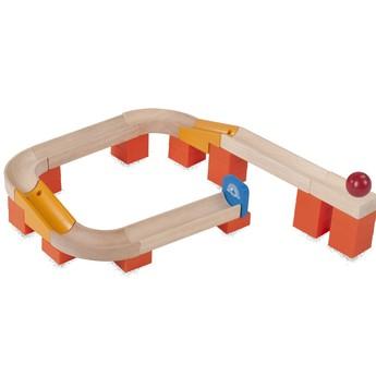 Motorické a didaktické hračky - Kuličková dráha TRIX - Kulička na dráze
