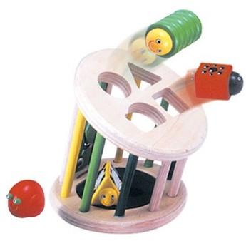 Motorické a didaktické hračky - Vkládačka na tvary zvířátka