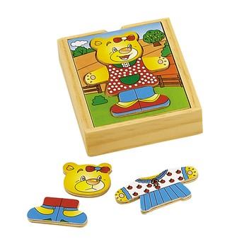 Puzzle - Puzzle šatní skříň 1 medvěd