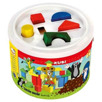 Kostky v kbelíku - Krtek 34 dílů