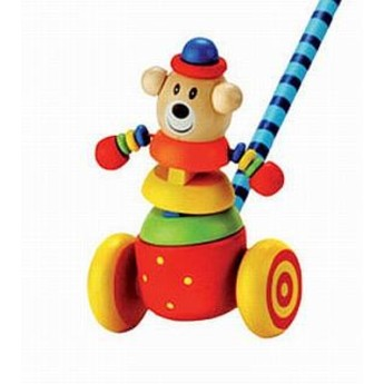 Pro nejmenší - Tlačící hračka Medvěd
