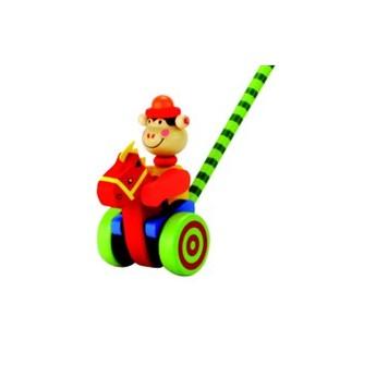 Pro nejmenší - Tlačící hračka Opička