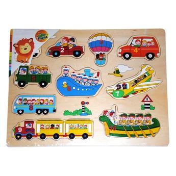 Puzzle - Dřevěné puzzle Doprava