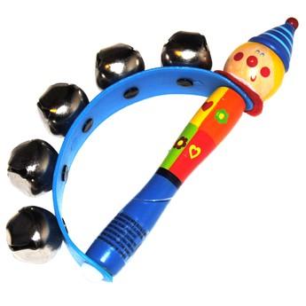 Dětské hudební nástroje - Rolničky do ruky - Kluk v čepici
