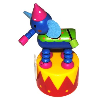 Motorické a didaktické hračky - Mačkací figurka Cirkus - Slon