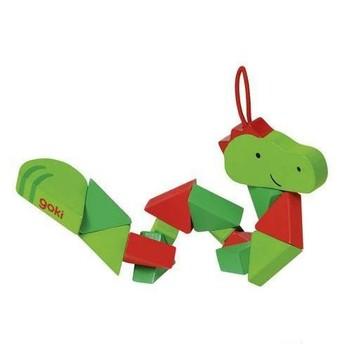 Pro holky - Puzzle skládačka krokodýl