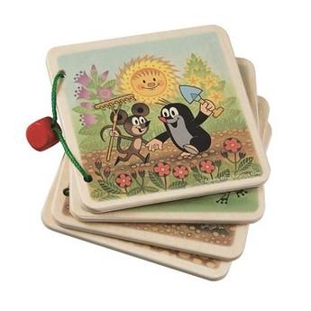 Pro nejmenší - Obrázkové album Krtek na zahradě