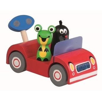 Pro kluky - Krtek na výletě - červené auto