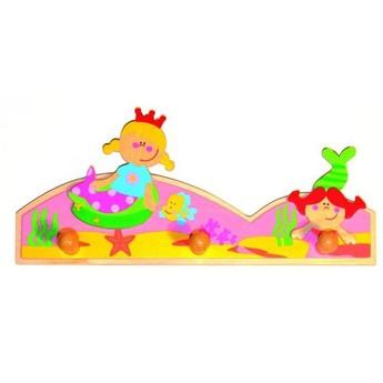 Dětský pokojíček - Věšák Mořské panny