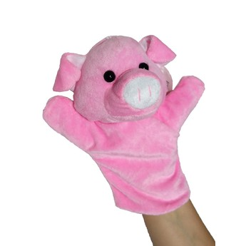 Divadla, loutky, maňásci - Maňásek na ruku Prasátko růžové