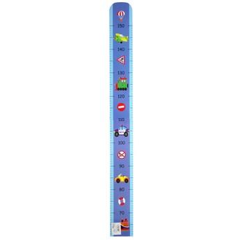 Dětský pokojíček - Dětský dřevěný metr – Dopravní prostředky