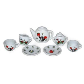 Pro holky - Porcelánové nádobíčko pro panenky Krteček, menší