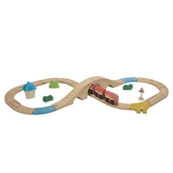 Pro kluky - Vláčkodráha Plan Toys, střední