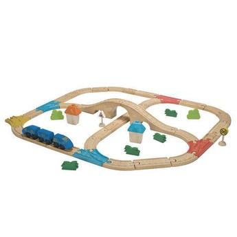 Pro kluky - Vláčkodráha Plan Toys, velká