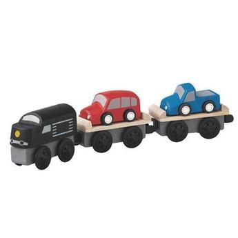 Pro kluky - Příslušenství k vlačkodráze - Vlak s autíčky