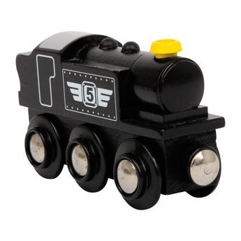 Pro kluky - Příslušenství k vlačkodráze - Lokomotiva černá