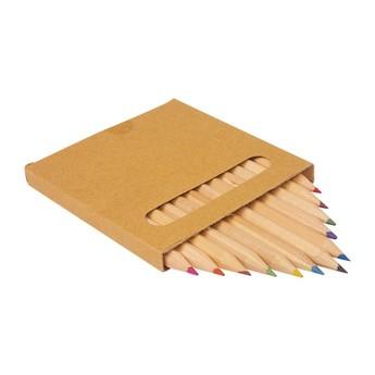 Výtvarné a kreativní hračky - Sada pastelek v krabičce, 12ks
