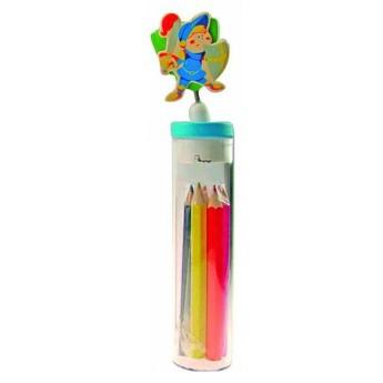Výtvarné a kreativní hračky - Pastelky s ořezavátkem Princ s mečem