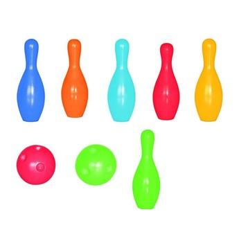 Hry a hlavolamy - Set 6 kuželek + 2 koule