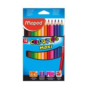 Výtvarné a kreativní hračky - Trojhranné pastelky 12 ks JUMBO