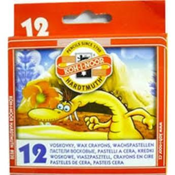 Výtvarné a kreativní hračky - Voskovky v krabičce 12 ks