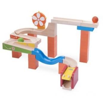 Motorické a didaktické hračky - Kuličková dráha TRIX - Svítící kolo