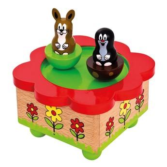 Dětský pokojíček - Hrací skříňka - Krtek