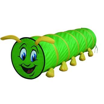 Dětský pokojíček - Prolézačka housenka zelená