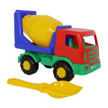 Hračky na ven - Hračky na písek - sada míchačka na beton