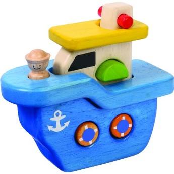 Pro kluky - Dřevěná loď skládačka