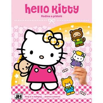 Výtvarné a kreativní hračky - Zábava se samolepkami Hello Kitty Rodina
