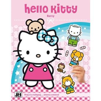 Výtvarné a kreativní hračky - Zábava se samolepkami Hello Kitty Barvy