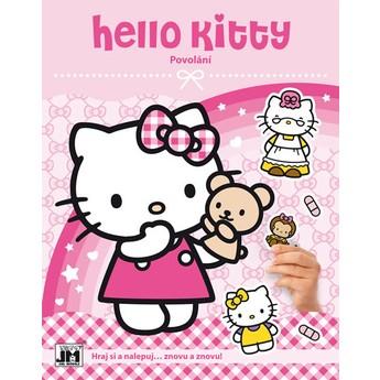 Výtvarné a kreativní hračky - Zábava se samolepkami Hello Kitty Povolání