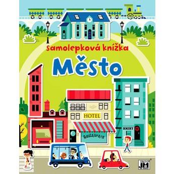 Výtvarné a kreativní hračky - Samolepková knížka - Město