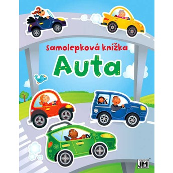 Výtvarné a kreativní hračky - Samolepková knížka - Auta