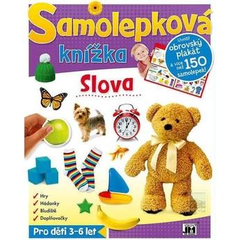 Výtvarné a kreativní hračky - Samolepková knížka - Slova
