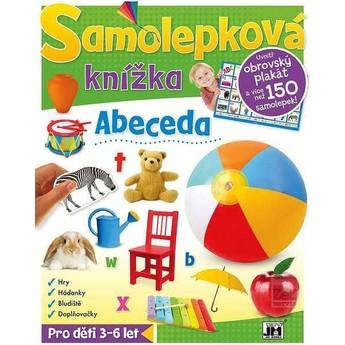 Výtvarné a kreativní hračky - Samolepková knížka - Abeceda