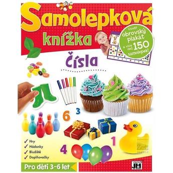 Výtvarné a kreativní hračky - Samolepková knížka - Čísla
