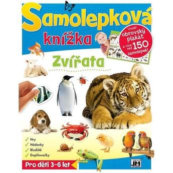 Výtvarné a kreativní hračky - Samolepková knížka - Zvířata z celého světa