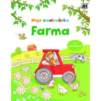 Výtvarné a kreativní hračky - Moje omalovánka Farma