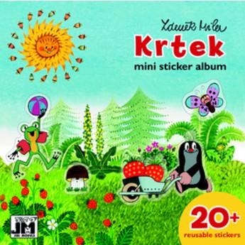 Výtvarné a kreativní hračky - Samolepkové mini album Krtek - prázdniny