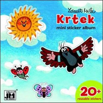 Výtvarné a kreativní hračky - Samolepkové mini album Krtek - příroda