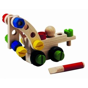 Pro kluky - Konstrukční sada pro malé kutily, 30 dílů