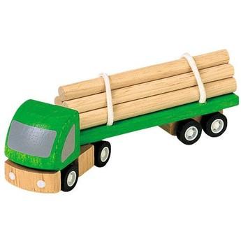 Pro kluky - PLAN TOYS Těžařské auto