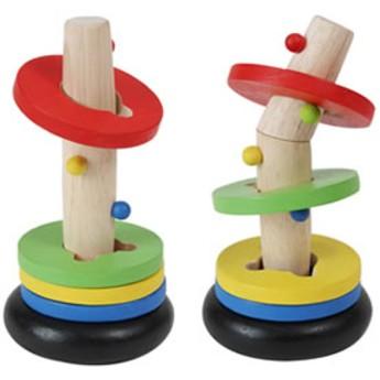Motorické a didaktické hračky - Veselá pyramida