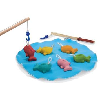 Motorické a didaktické hračky - Chytání rybiček na háček