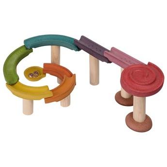 Motorické a didaktické hračky - Barevná kuličková dráha