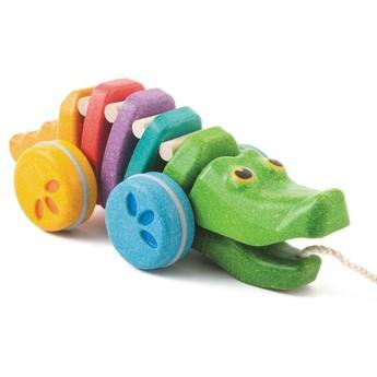 Pro nejmenší - Tančící aligátor barevný
