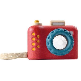 Kalejdoskop Fotoaparát, červený