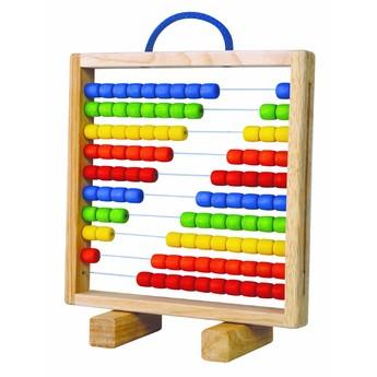 Školní potřeby - Dřevěné počítadlo s úchytem